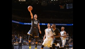 Nr. 11: GSW vs Brooklyn Nets 107:99 - Topscorer: Steph Curry (34)