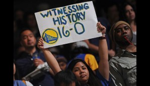 Nr. 16: GSW vs Los Angeles Lakers 111:77 - Topscorer: Steph Curry (24)