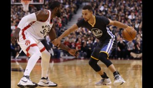 Nr. 21: GSW @Toronto Raptors 112:109 - Topscorer: Steph Curry (44)