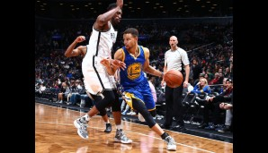 Nr. 22: GSW @Brookly Nets 114:98 - Topscorer: Steph Curry (28)