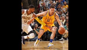 Nr. 23: GSW @ Indiana Pacers 131:123 - Topscorer: Klay Thompson (39)