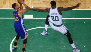 Nr. 24: GSW @ Boston Celtics 124:119 2OT - Topscorer: Stephen Curry (38)