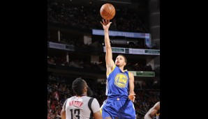 Nr. 2: GSW @ Houston Rockets: 112:92 - Topscorer: Steph Curry (25)
