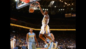Nr. 6: GSW vs Denver Nuggets 119:104 - Topscorer: Steph Curry (34)