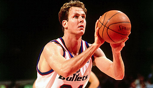 1993/94 Don MacLean (Washington Bullets)