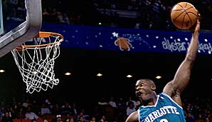 1991/92 Larry Johnson (Charlotte Hornets)
