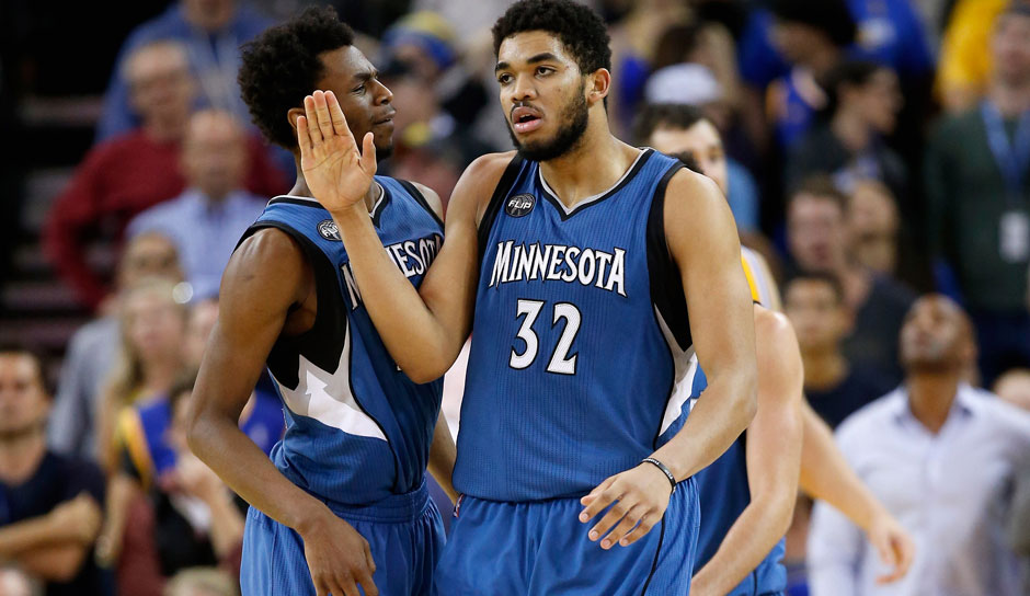 2015/16 Karl-Anthony Towns (Minnesota Timberwolves)