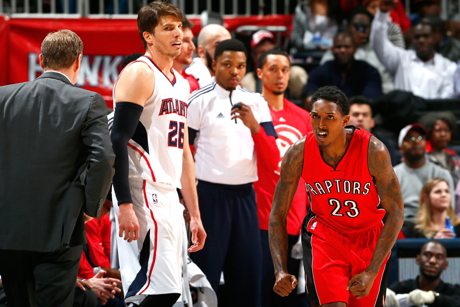 2014/15: Lou Williams, Toronto Raptors