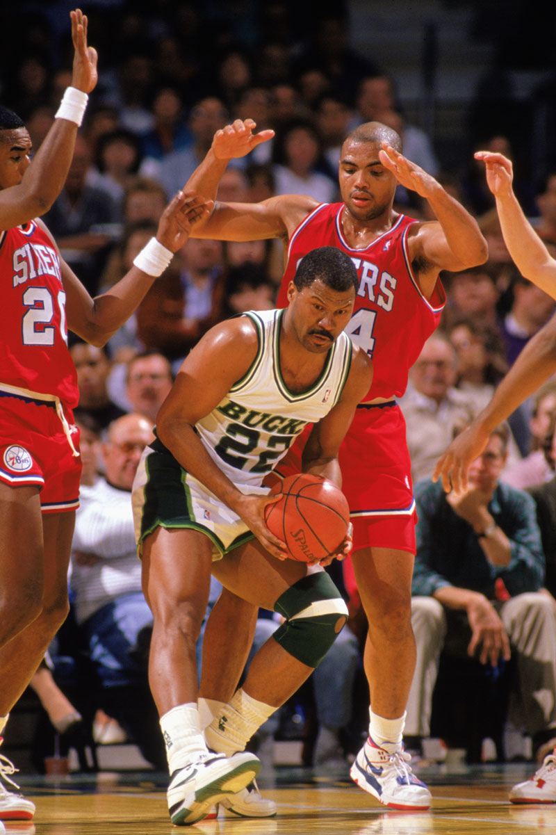 1986/87 und 1989/90: Ricky Pierce, Milwaukee Bucks