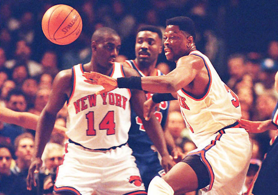 1994/95: Anthony Mason (l.), New York Knicks