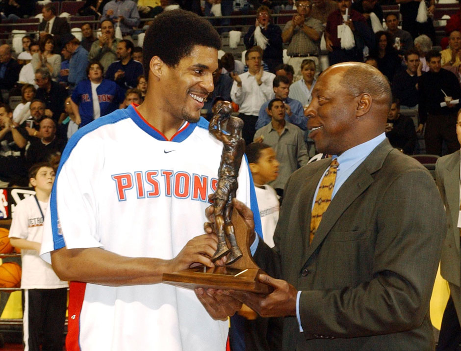 2001/02: Corliss Williamson, Detroit Pistons