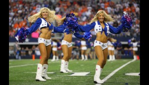 Die heißesten Cheerleader der NFL: Dallas Cowboys