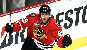 2013: Chicago Blackhawks. Playoffs-MVP: Patrick Kane (Forward)