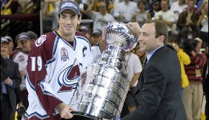 2001: Colorado Avalanche. Playoffs-MVP: Patrick Roy (Goalie)