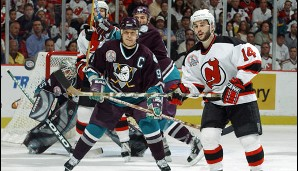 2003: New Jersey Devils. Playoffs-MVP: Jean-Sebastien Giguere (Goalie, Mighty Ducks of Anaheim)