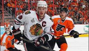 2010: Chicago Blackhawks. Playoffs-MVP: Jonathan Toews (Center)
