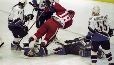 1998: Detroit Red Wings. Playoffs-MVP: Steve Yzerman (Forward)