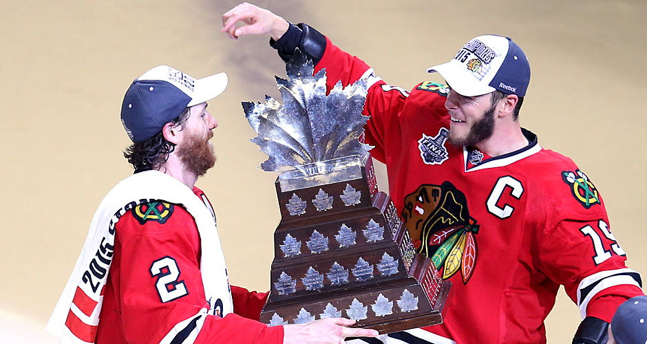 2015: Chicago Blackhawks. Playoffs-MVP: Duncan Keith (l., Defenseman)