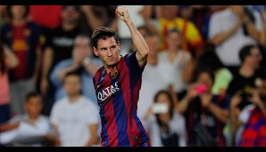 Rang 2: Lionel Messi vom FC Barcelona (43 Tore)