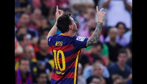 Rang 3: Lionel Messi vom FC Barcelona (26 Tore)