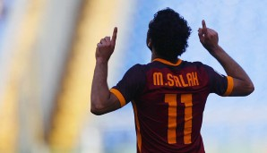 Rang 5: Mohamed Salah vom AS Rom (14 Tore)