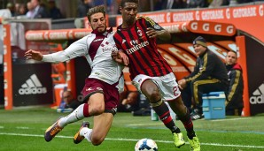 Kevin Constant (r.) soll Trabzonspors linke Seite beackern: Er kam vom AC Mailand