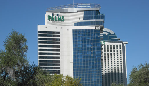 ...findet gleich um die Ecke das Palms Casino Resort. Besonders empfehlenswert: Die Playboy-Suite. Ganz nach dem Motto: What happens in Vegas, stays in Vegas!