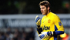 Platz 9: David de Gea (Alter: 21 / Verein: Manchester United / Nation: Spanien)