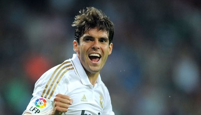 Platz 14: Kaka (Real Madrid, 1%)