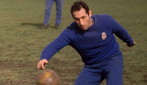 Platz 19: Francisco Gento (Real Madrid, Racing Santander, FC Granada, 1%)