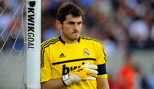 Platz 7: Iker Casillas (Real Madrid, 3%)