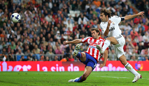 Platz 4: Raul (Real Madrid, 8 %)