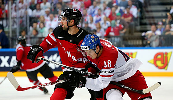 Eishockey Kanada Tschechien