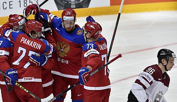 hockey russland finnland