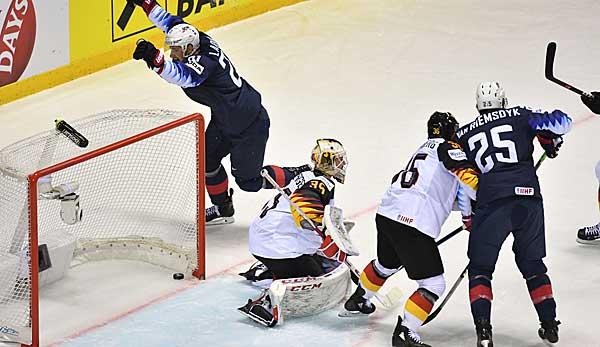 Eishockey WM: Starkes DEB-Team unterliegt USA nach hartem Kampf