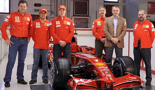 ferrari, team, räikkönen, massa, domenicali, almondo, costa, simon