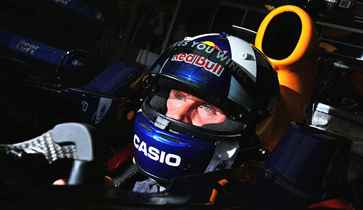 David Coulthard, Tankstopps