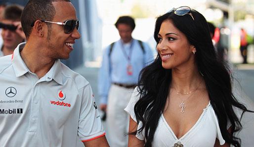 Lewis Hamilton Frau