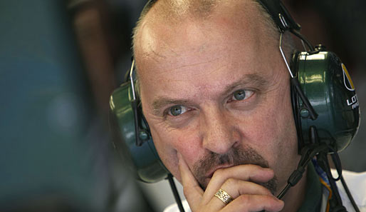 Mike Gascoyne ist der Chefingenieur des Lotus-Racing-Teams