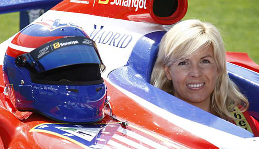 Maria de Villota trat in der Superleague Formula für Atletico Madrid an