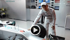 Mercedes, Nico Rosberg, Video