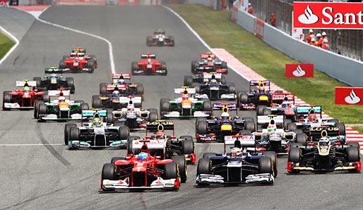 Formel1 Start