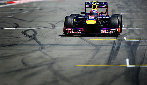Mark Webber geht seit 2007 für Red Bull Racing an den Start
