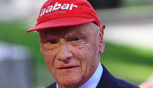"""Niki Lauda hat sich zur Promotion des Films """"Rush"""" einen Scherz erlaubt"""