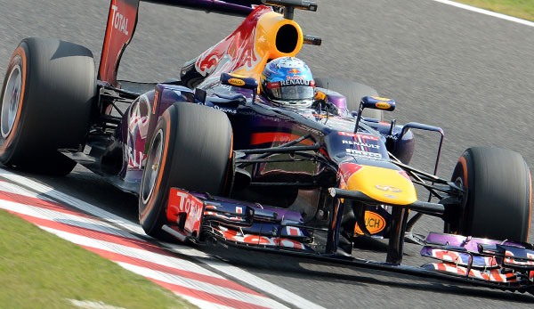 Sebastian Vettel hat in Japan seine vierte Pole Position in Folge verpasst