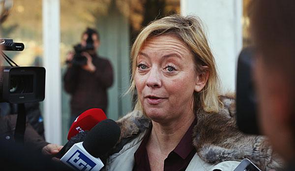 Sabine Kehm ist bereits seit Sonntag erste Anlaufstation für Neuigkeiten ...