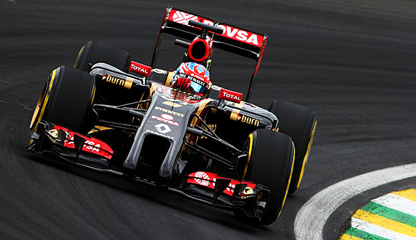 Romain Grosjean bleibt Lotus treu