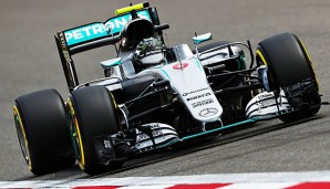 Nico Rosberg sicherte sich in China die Pole