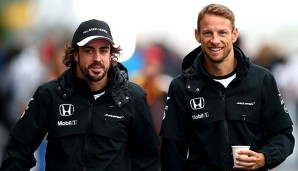 Jenson Button vertritt Fernando Alonso
