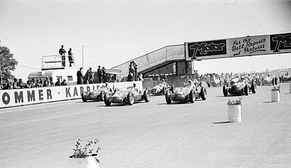 Erstes Formel 1 Rennen Der Geschichte Die Geburtsstunde Der